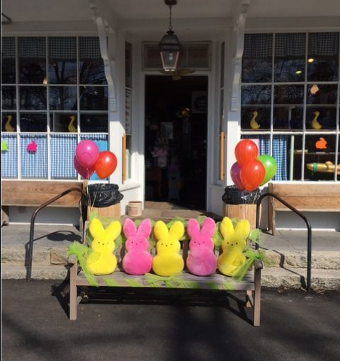 Peeps at the Brewster Store for Easter